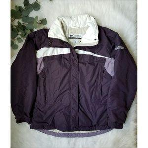 COLUMBIA Winter Coat ColorBlock Warm Jacket Large